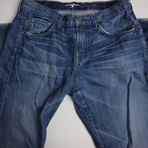 7 For All Mankind Other - 7 for all mankind Mens Austyn Straight Jeans 33